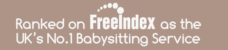 Ranked on freeindex as the UK's no.1 babysitting service